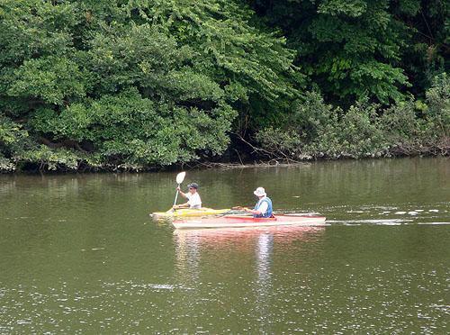 ついに利根川へ! (花見川カヌー探検 その3)_c0137404_1081865.jpg