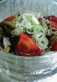 砂肝とザ-サイのこりこりサラダ♪_f0116812_8535775.jpg