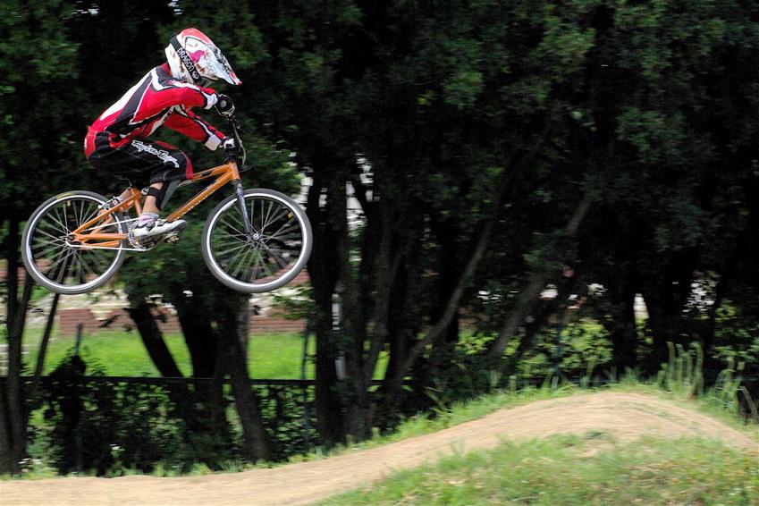 2008レーサーオブレースVOL6 :BMX、MTB、クルーザークラス予選_b0065730_18402160.jpg