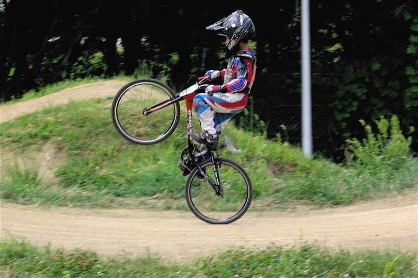 2008レーサーオブレースVOL6 :BMX、MTB、クルーザークラス予選_b0065730_1840946.jpg