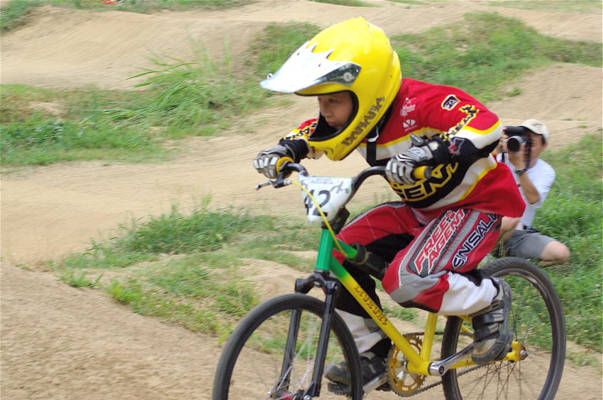 2008レーサーオブレースVOL6 :BMX、MTB、クルーザークラス予選_b0065730_18414986.jpg