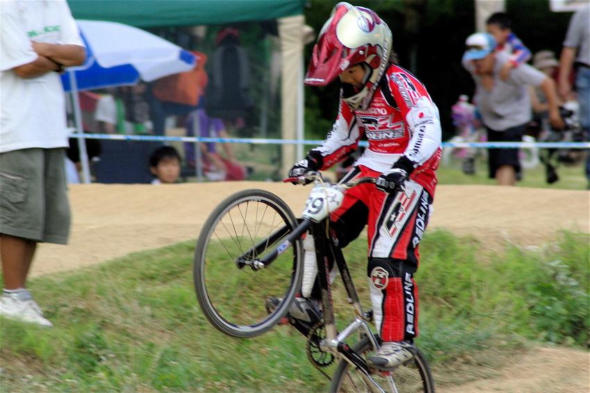 2008レーサーオブレースVOL6 :BMX、MTB、クルーザークラス予選_b0065730_1841998.jpg