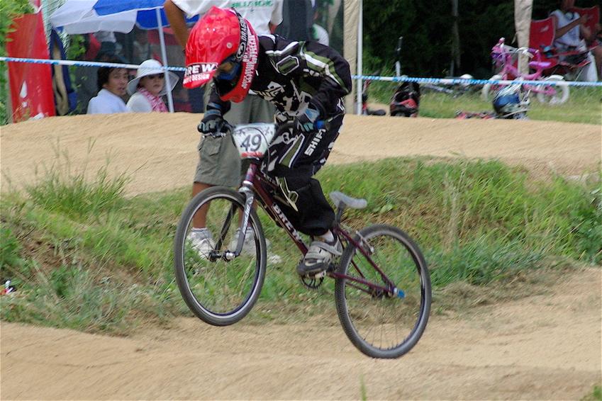 2008レーサーオブレースVOL6 :BMX、MTB、クルーザークラス予選_b0065730_18421828.jpg
