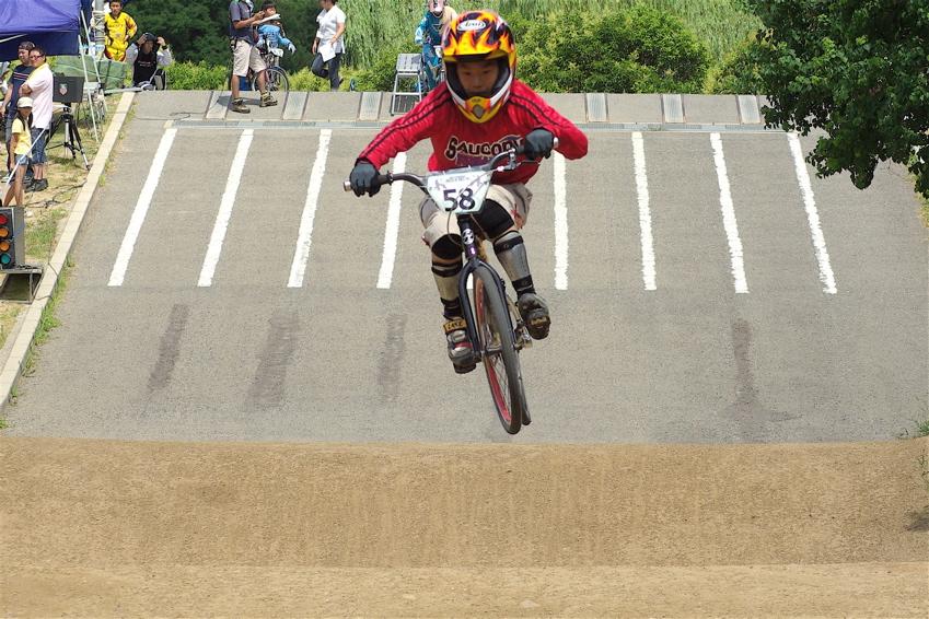 2008レーサーオブレースVOL6 :BMX、MTB、クルーザークラス予選_b0065730_18435768.jpg