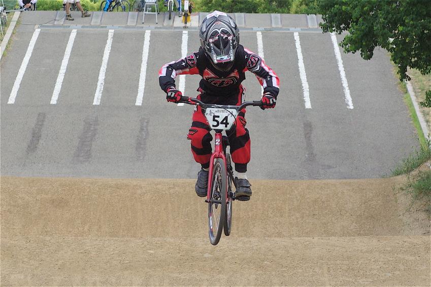 2008レーサーオブレースVOL6 :BMX、MTB、クルーザークラス予選_b0065730_1843616.jpg