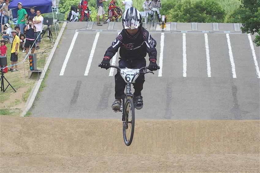 2008レーサーオブレースVOL6 :BMX、MTB、クルーザークラス予選_b0065730_18462360.jpg