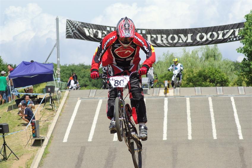 2008レーサーオブレースVOL6 :BMX、MTB、クルーザークラス予選_b0065730_18495449.jpg