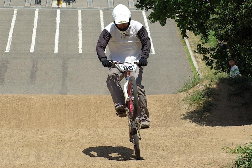 2008レーサーオブレースVOL6 :BMX、MTB、クルーザークラス予選_b0065730_18512442.jpg