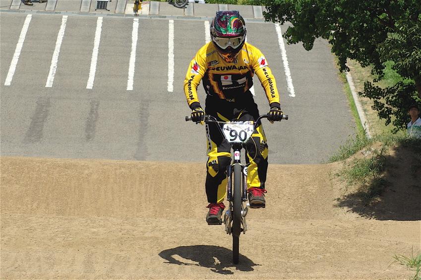 2008レーサーオブレースVOL6 :BMX、MTB、クルーザークラス予選_b0065730_18515221.jpg