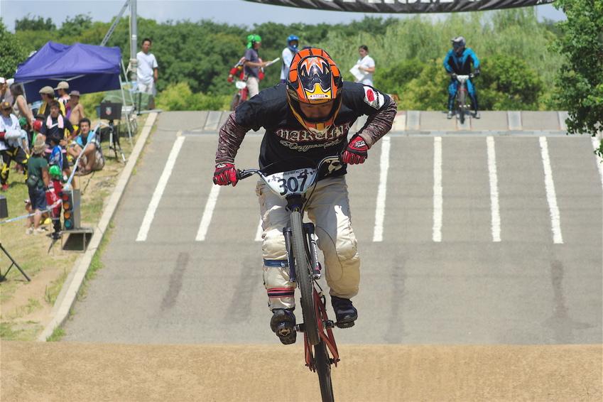 2008レーサーオブレースVOL6 :BMX、MTB、クルーザークラス予選_b0065730_18525750.jpg