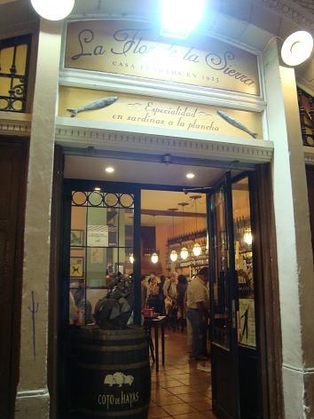 La Flor de la Sierra ~Zaragozaレストラン~_e0120938_16264869.jpg