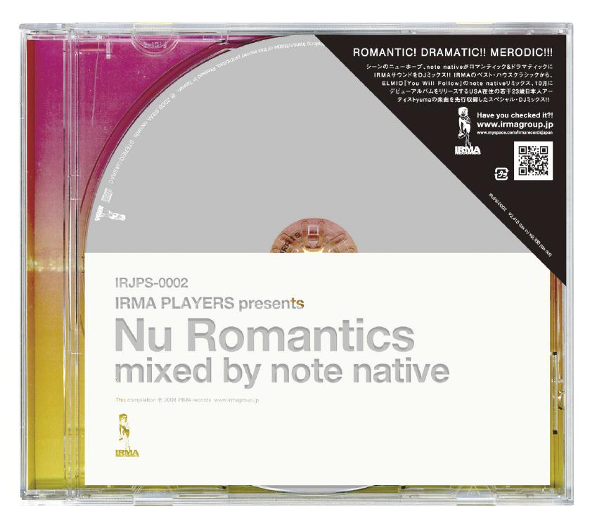 """""""Nu Romantics mixed by note native"""" リリース決定!!_f0142044_11544560.jpg"""