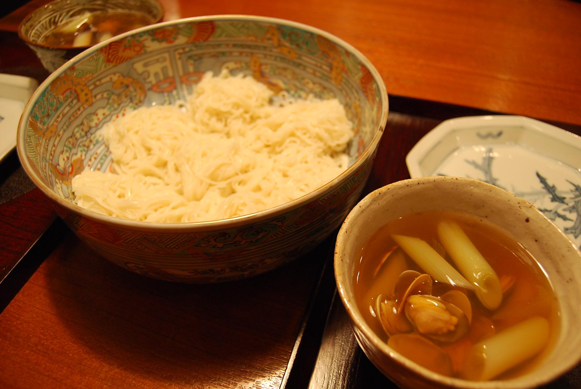 あさり素麺_e0142956_1251197.jpg