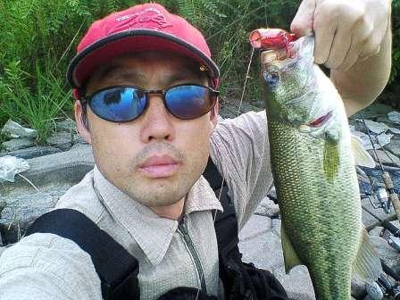 釣果報告 兵庫野池 Blade Crank M5R & Super Chinai 95_d0145899_621599.jpg