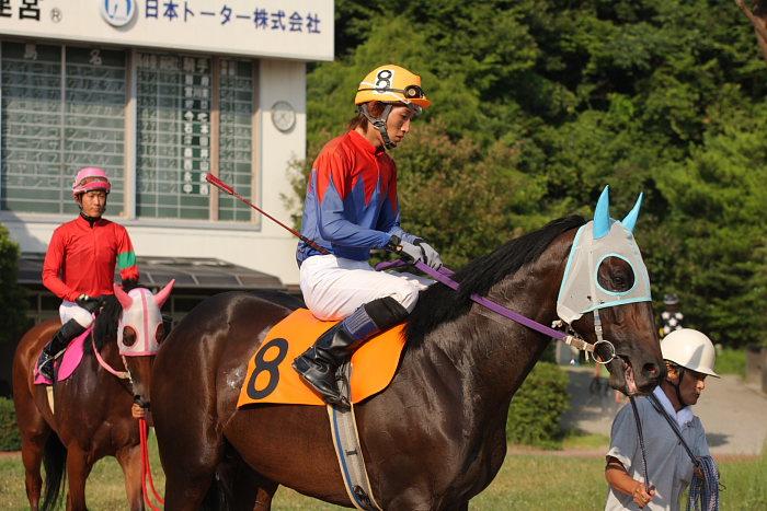 濱田達也騎手、4勝目~_a0077663_2084645.jpg