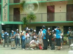 ミクロネシア諸島自然体験‐2008年少年少女自然体験交流-島内散策_a0043520_2443954.jpg