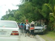 ミクロネシア諸島自然体験‐2008年少年少女自然体験交流-島内散策_a0043520_249098.jpg