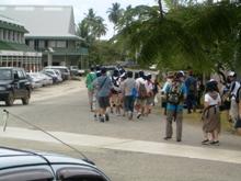 ミクロネシア諸島自然体験‐2008年少年少女自然体験交流-島内散策_a0043520_2542316.jpg
