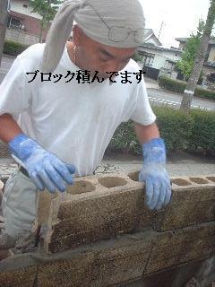 ブロック&フェンス工事_f0031037_21472586.jpg