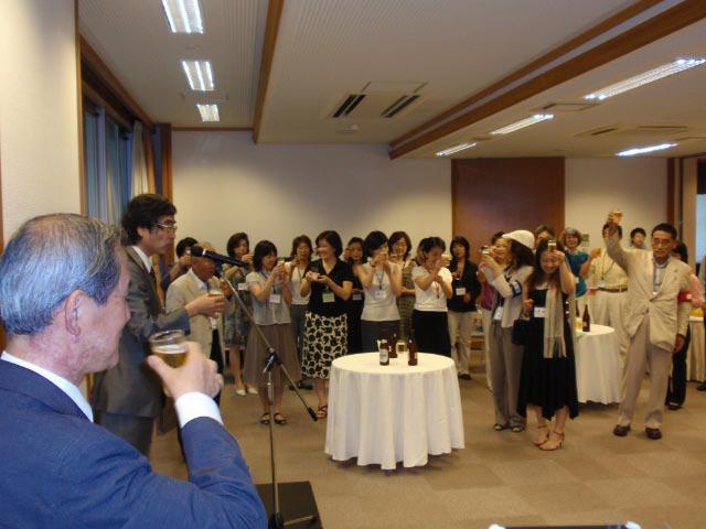 東京大学でご支援いただいた方々との懇親パーティ_a0094959_2545223.jpg