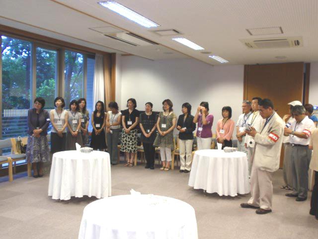 東京大学でご支援いただいた方々との懇親パーティ_a0094959_2551717.jpg