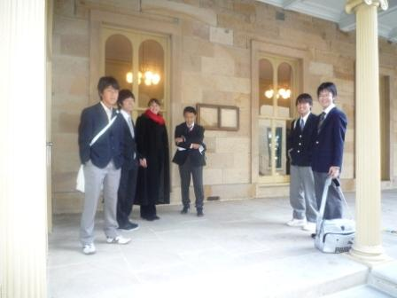 南山高等学校男子部制服画像