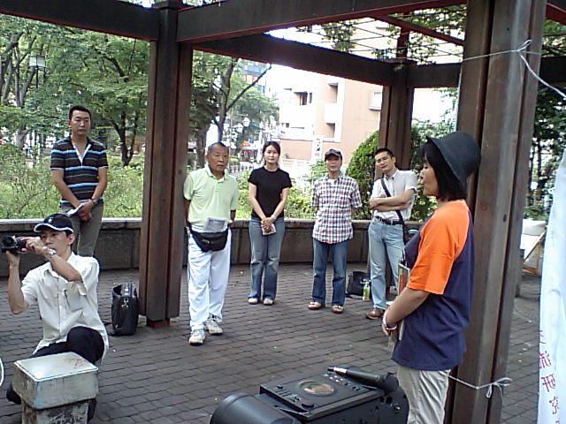 第51回漢語角開催写真その1 自己紹介開始_d0027795_14521130.jpg