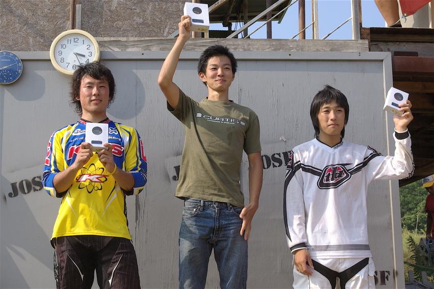 2008JOSF8月緑山定期戦VOL4:MTBエリートクラス予選第3ヒート〜決勝_b0065730_12445987.jpg