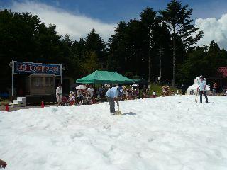 六甲山<人工>スキー場雪祭り_b0054727_1448218.jpg