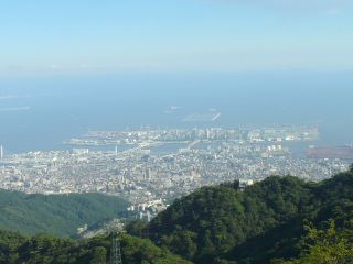 六甲山<人工>スキー場雪祭り_b0054727_1456143.jpg