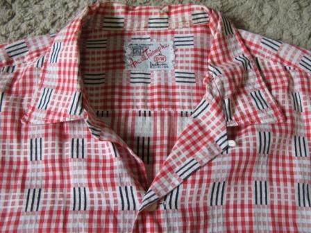 8月8日(土)入荷!50年代 チェックシャツ!_c0144020_1134943.jpg