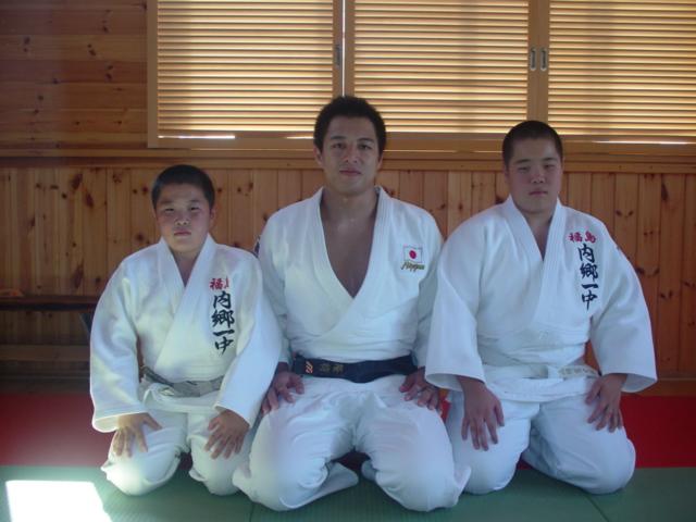 穴井 隆将選手が山崎道場へ : 内郷柔道塾のブログ