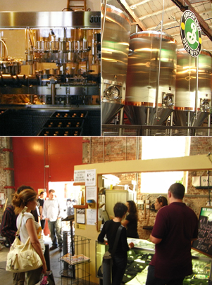 地ビール工場の美味しい生ビール Brooklyn Brewery_b0007805_23543474.jpg
