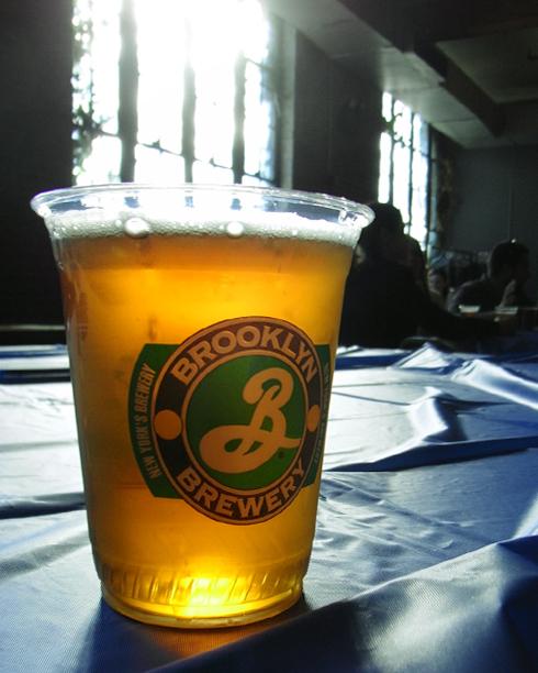 地ビール工場の美味しい生ビール Brooklyn Brewery_b0007805_2356357.jpg