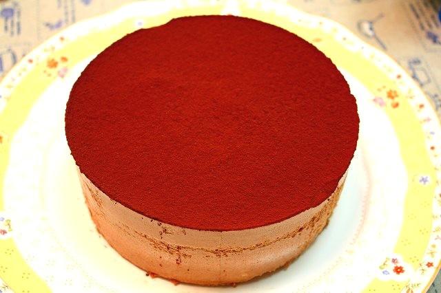 丸いケーキ リベンジ_f0100825_1271551.jpg