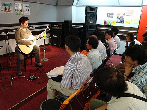 南澤大介ギター・セミナー with HISTORY (in 津田沼)_c0137404_20182889.jpg