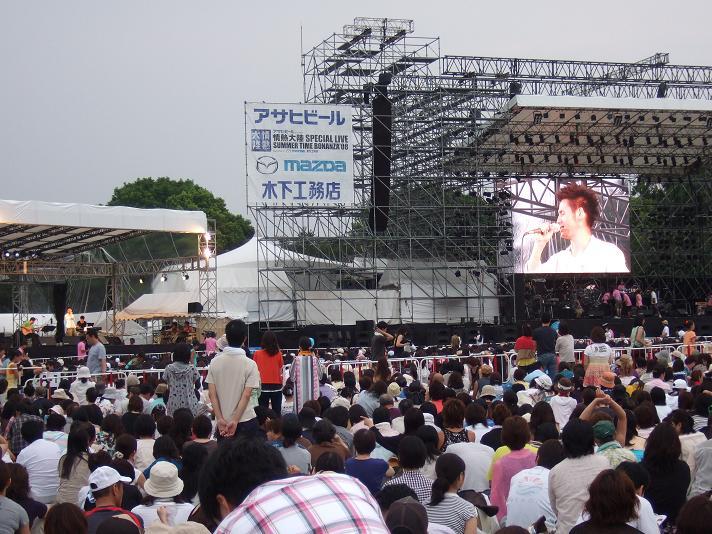 情熱大陸スペシャルライブ東京公演。_f0056929_18141819.jpg