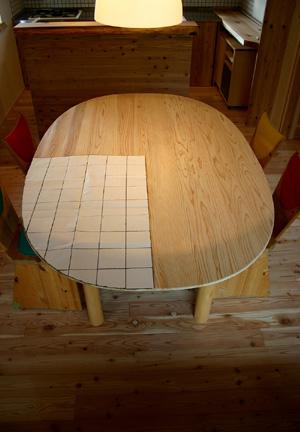 スーパー楕円のダイニングテーブル_d0082238_22295989.jpg
