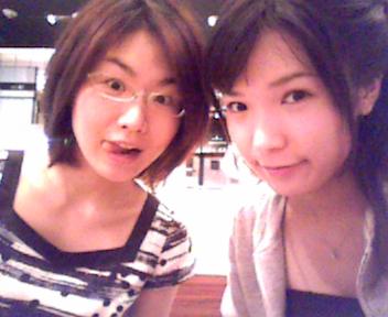 二人でカフェ~_e0114246_22155391.jpg