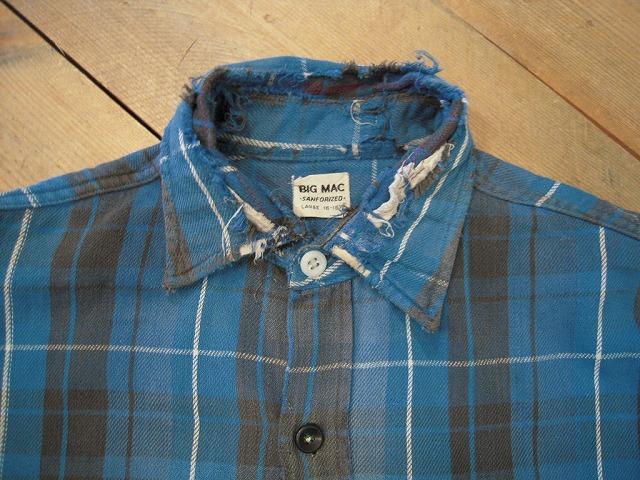 クタクタのネルシャツ。_d0121303_12374557.jpg