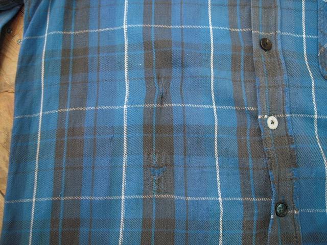クタクタのネルシャツ。_d0121303_12411922.jpg