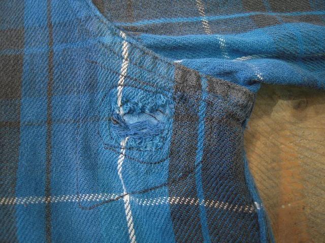 クタクタのネルシャツ。_d0121303_12434141.jpg