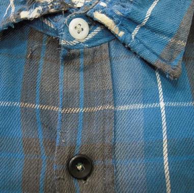 クタクタのネルシャツ。_d0121303_1247523.jpg