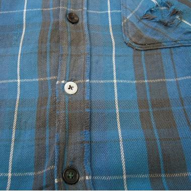 クタクタのネルシャツ。_d0121303_1248017.jpg