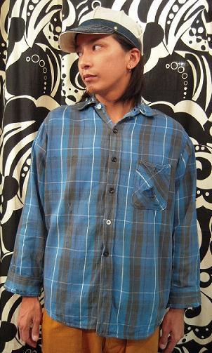 クタクタのネルシャツ。_d0121303_1251811.jpg