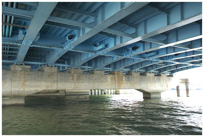 浪花八百八橋を下から観ると_c0042324_1362766.jpg