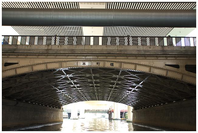 浪花八百八橋を下から観ると_c0042324_137832.jpg