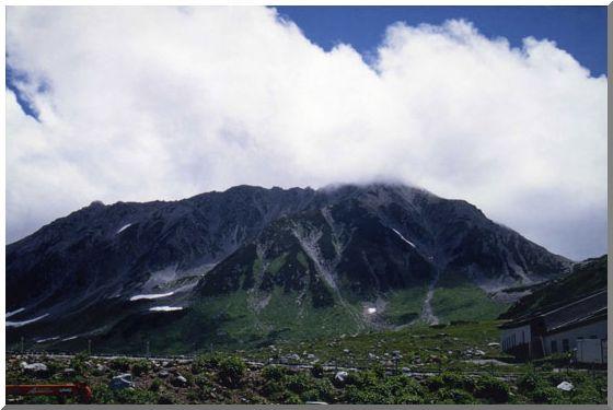 夏の立山連峰(ストックより投稿)_d0123528_1030371.jpg