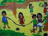 インドネシアとの共同壁画制作で育てる心と感性_c0052304_035617.jpg