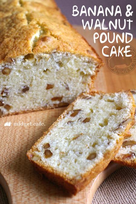 完熟バナナとローストクルミのパウンドケーキ【過去最高作品(笑)】 <br />